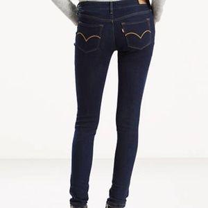 NWT Levi's 535 Super Skinny Mid Rise Jeans